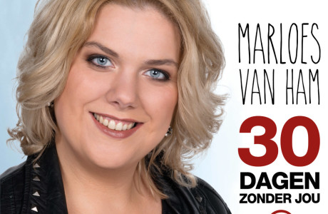 Marloes van Ham-30 dagen zonder jou-CD Cover
